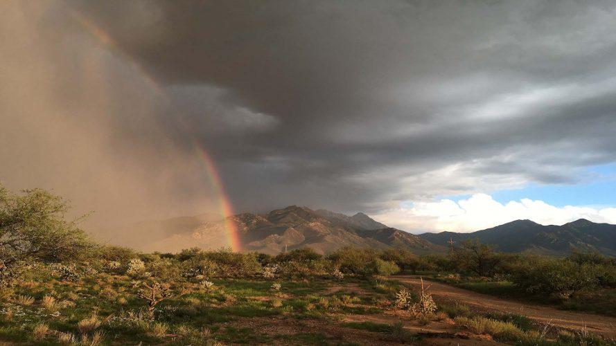 Rainbow in the Santa Rita Mountains